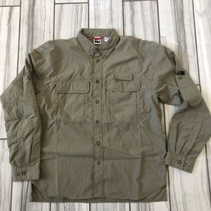 The North Face button down. EUC like new